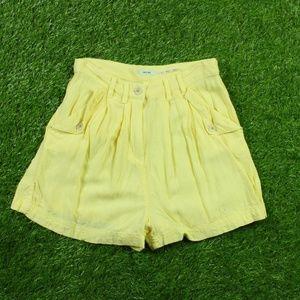 Kimchi Blue Women's Yellow Madeline Trouser Size 0